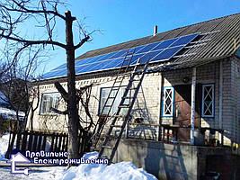 Сонячна електростанція 10 кВт смт. Макошино 2
