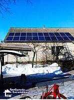 Сонячна електростанція 10 кВт смт. Макошино 1