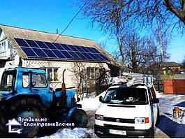 Сонячна електростанція 10 кВт смт. Макошино