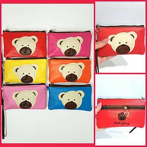 Детский кошелек - медвежонок ( номер  к15)