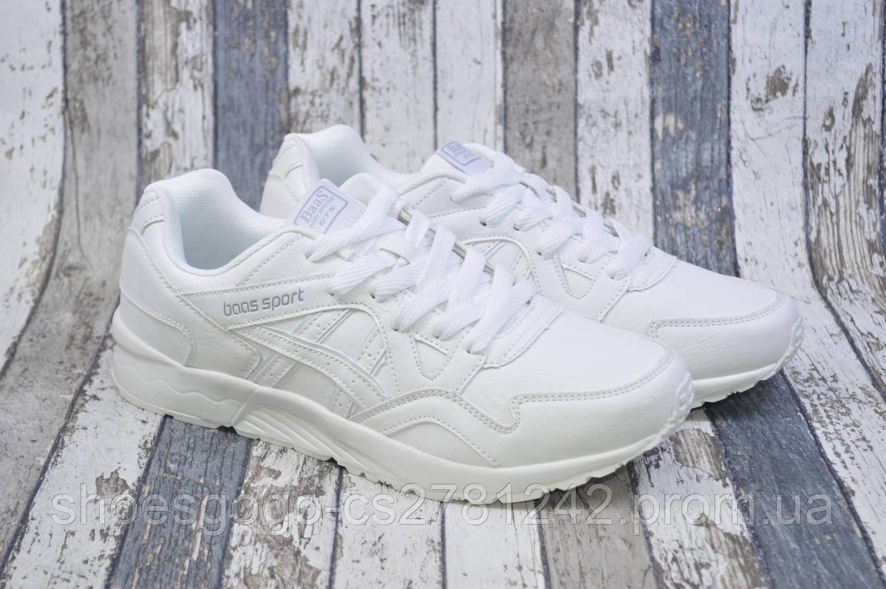 03694e70 Мужские белые кроссовки, кожаные Baas: продажа, цена в Киеве ...