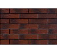 Клинкерная фасадная плитка Cerrad Бургунд рустикальный с оттенком 245*65*6,5 мм цена за 1 плитку