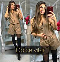 Комбинезон женский  элегантный шортами + (2 цвета)