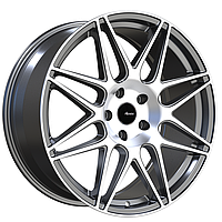 ADVANTI RACING CLASSE Matte Gunmetal with Machined Face