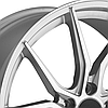 ADVANTI RACING HYBRIS Silver with Machined Face, фото 2