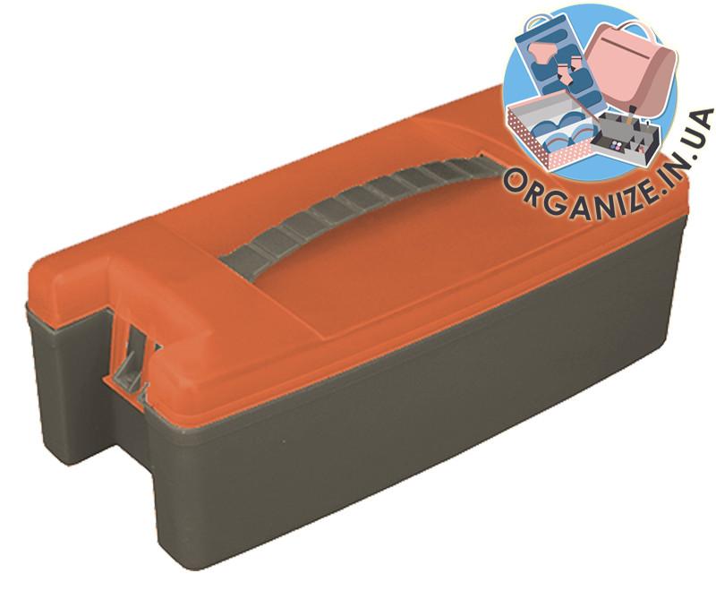 Ящик для инструментов 10'' (оранжево-серый)