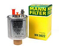 Фильтр топливный прямоточной под датчик) Kangoo1.5 dCi)2008->LagunaIII2.0dCi-07-> MANN-FILTER-WK9022-Франция