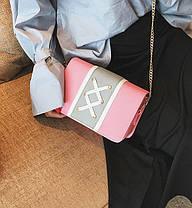 Стильная сумка сундучок со шнуровкой, фото 2