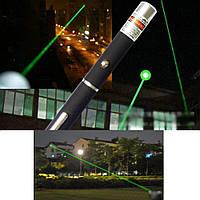 Лазерная указка зеленого цвета! Светит на 1 км.!