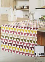 Скатерть на стол, салфетка с принтом Tukan, 45х150 см