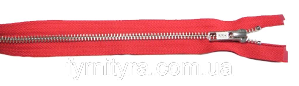 Металл YKK 16cm 059 красная 1 бег №5 никель