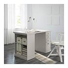 Стол IKEA KLIMPEN 120x60 см светло-серый 592.138.39, фото 2