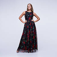 Платье 0078-black | Vichitore