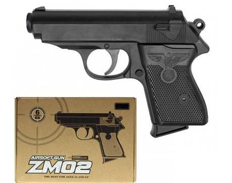Игрушечный пистолет «Airsoft Gun» CYMA ZM02 (метал+пластик), фото 2