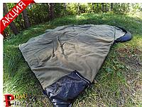 Армейский спальный мешок (до -20) спальник