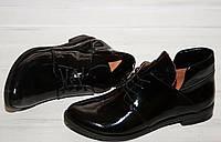 Женские туфли закрытые . Натуральная лаковая кожа. Возможен отшив в других цветах. , фото 1