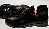 Женские туфли закрытые . Натуральная лаковая кожа. Возможен отшив в других цветах., фото 2