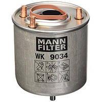 Топливный фильтр Citroen Berlingo Peugeot Partner 1.6Hdi-2008-> MANN-FILTER WK9034Z Германия