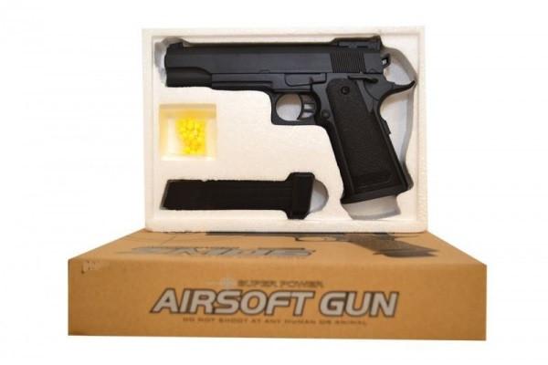 Іграшковий пістолет «Airsoft Gun» CYMA ZM05 (метал+пластик)
