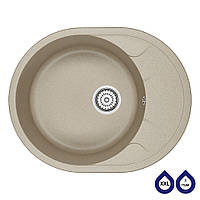 Мойка кухонная гранитная Minola MOG 1155-63 Песок