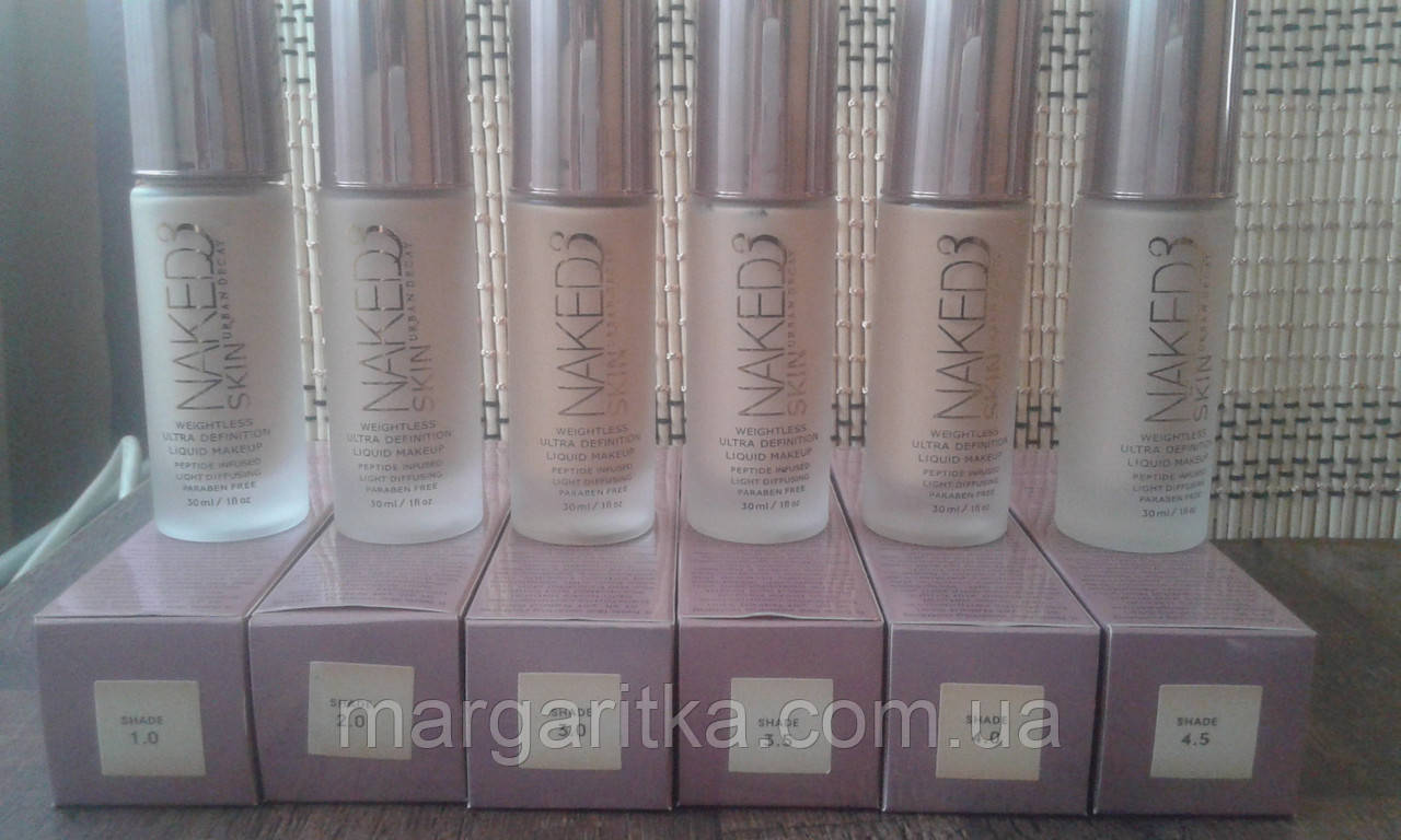 Тональный крем Urban Decay Naked Skin Weightless Ultra Definition Make Up  (Копия)
