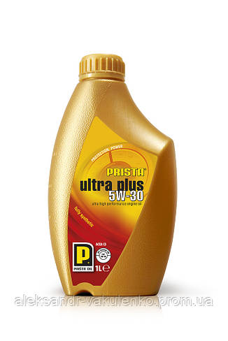 Моторное масло Prista Ultra Plus SAE 5W-30, 4 л, SN/CF