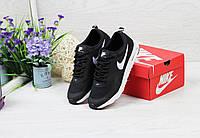 Кроссовки женские Nike Air Max Thea (черно-белые), ТОП-реплика, фото 1