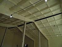 Наружная термо - гидроизоляция напылением пенополиуретана стен и перекрытий сооружений