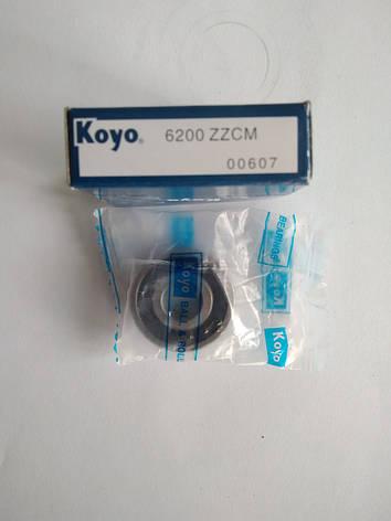 Подшипник колеса 6200 10*30*9 KOYO, фото 2