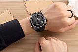 Мужские наручные кварцевые электронные часы Naviforce NF9024-BBR, фото 4