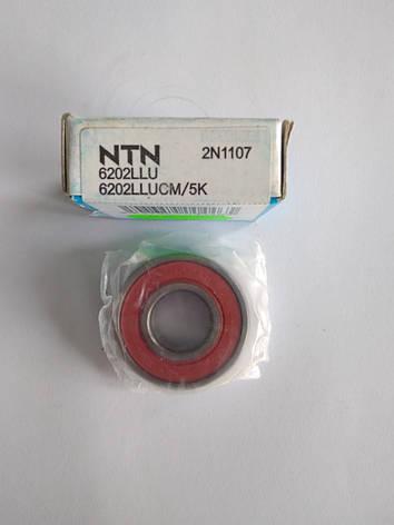 Подшипник NTN (6202) промежуточного вала HONDA 15*35*11, фото 2