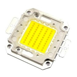 Внешний вид светодиодной матрицы для уличных светодиодных прожекторов 20 Вт