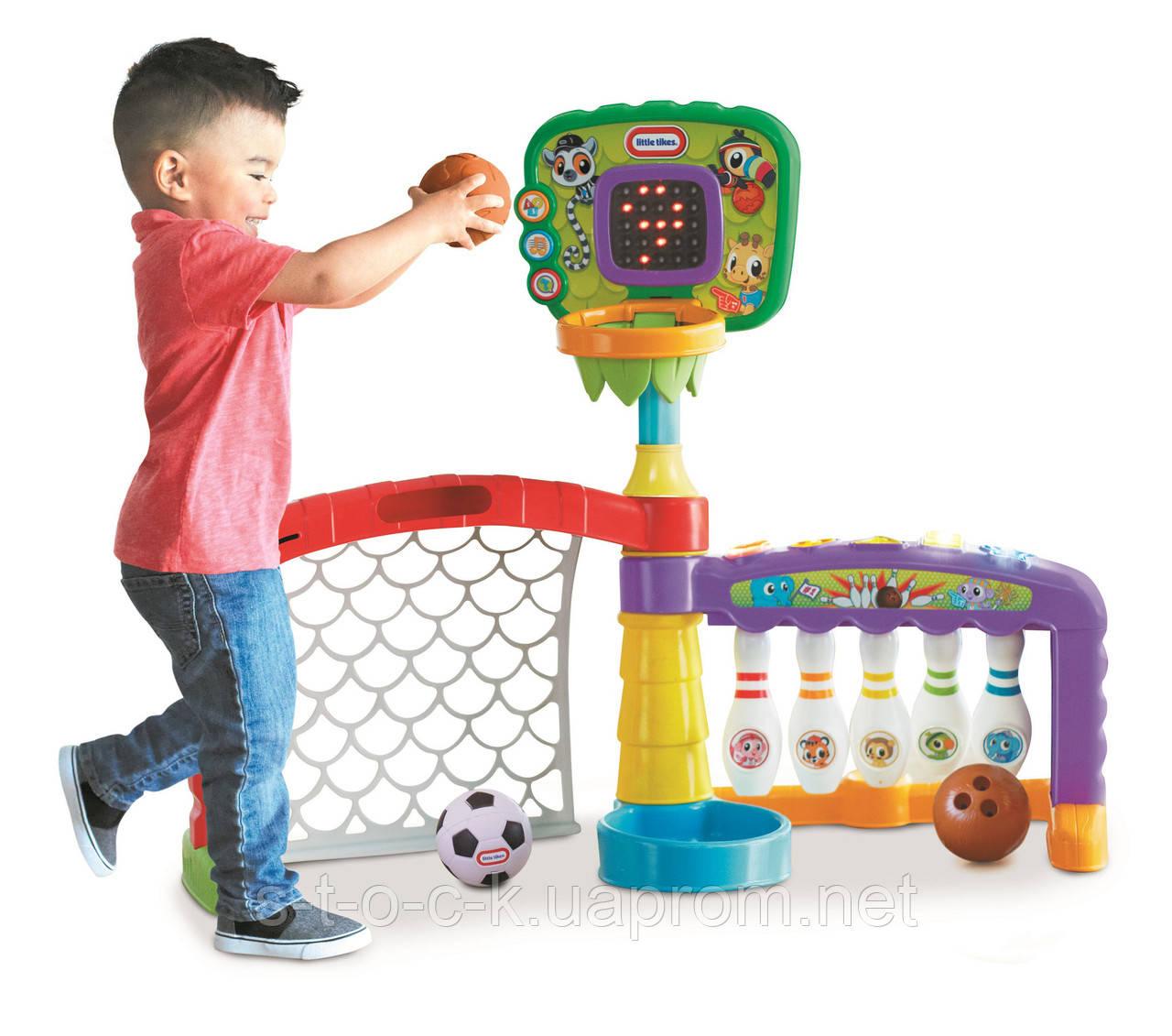 Little Tikes Sports Активный игровой центр 3в1 Код 643224