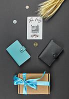"""Набор кожаных аксессуаров """"Бургундия"""" (две кожаных обложки для паспорта, открытка)"""