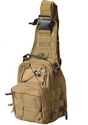Тактический рюкзак однолямочный Silver Knight с системой M.O.L.L.E Coy