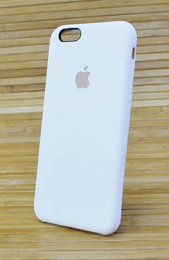 Силиконовый чехол на Айфон, iPhone 6 \ 6 s ORIGINAL ELITE COPY молочный