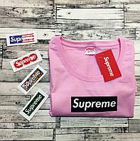 Supreme Pink женская Футболка  • Детальные фото • Ориг. бирка