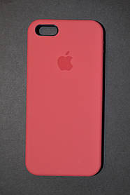 TPU + PC + MicroFiber Apple Silicone Case for iPhone 5 / 5s Red (красный)
