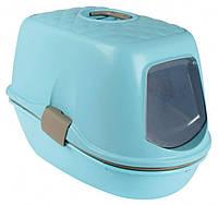TRIXIE (Трикси) BERTO 39х59х42 см - туалет закрытый для котов с фильтром, рамкой и сеткой