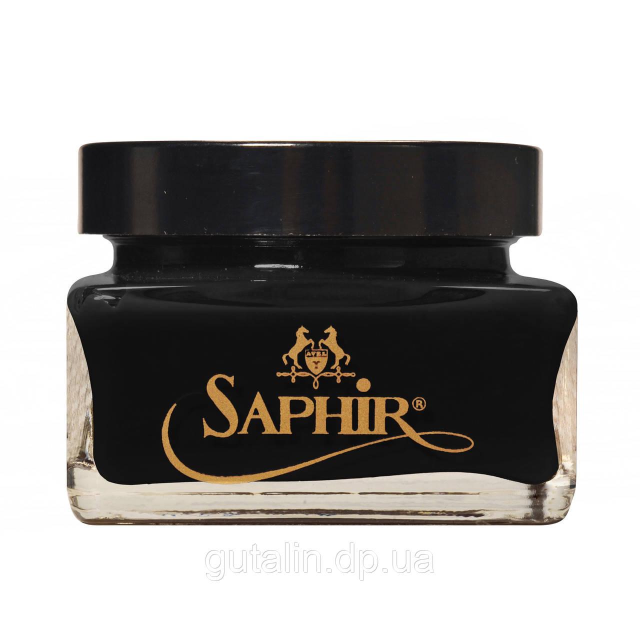 Крем для обуви Saphir Medaille D'or Creme Cordovan цвет черный (01) 75 мл