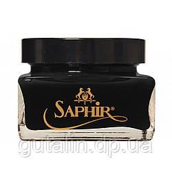 Крем для взуття Saphir Medaille d'or Creme Cordovan колір чорний (01) 75 мл