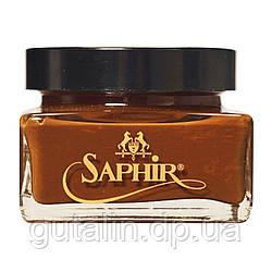 Крем для взуття Saphir Medaille d'or Creme Cordovan колір кордован (71) 75 мл