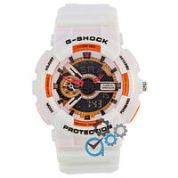 Часы Casio G-Shock GA-110 Glossy White-Orange