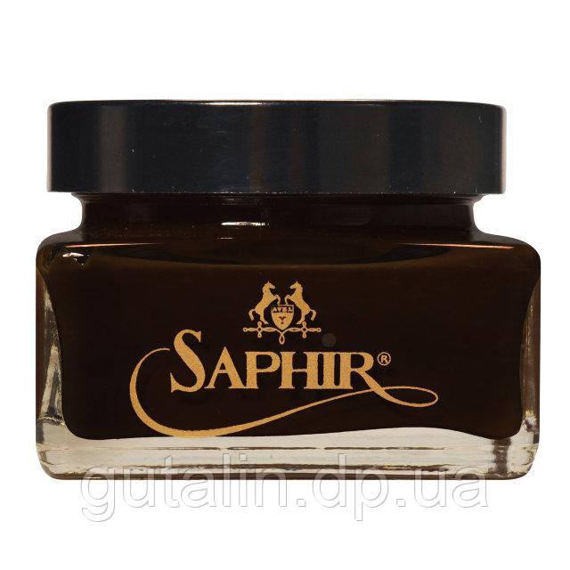 Крем для обуви Saphir Medaille D'or Creme Cordovan цвет темно-коричневый (05) 75 мл