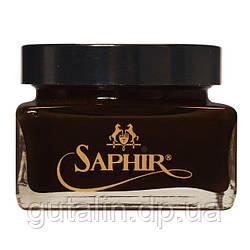 Крем для взуття Saphir Medaille d'or Creme Cordovan колір темно-коричневий (05) 75 мл