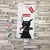 Футболка Supreme Dog | Бирка | Цифровая печать