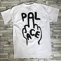 Palace Fuck Футболка белая • Бирка печать • Фотки реальные
