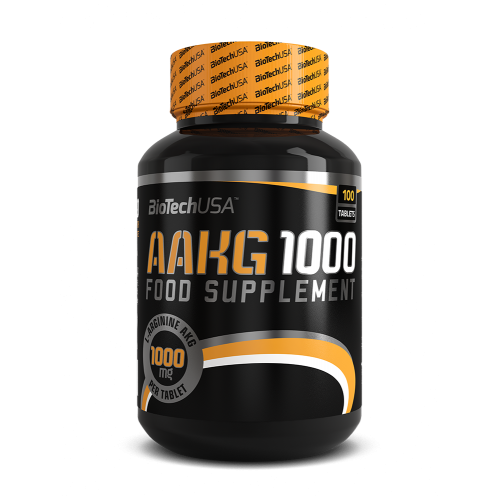 Biotech Arginin AAKG 100 tab