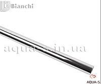 Трубка стальная хромированная (D 15 мм.) длина - 600 мм. Bianchi (для систем отопления)