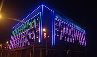 LED подсветка фасадов светодиодная - просто и красиво.